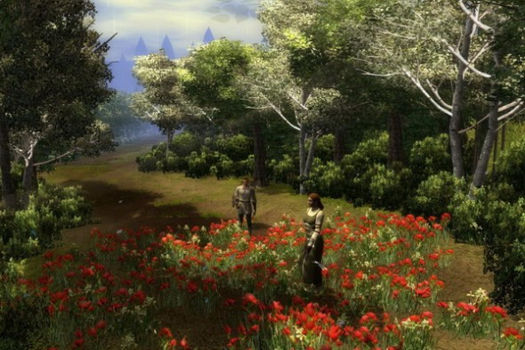 Screenshot from the game: Guardian (2010) by Dr. C. Sebastian Loh